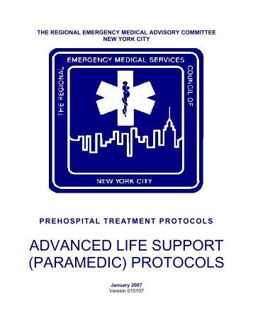 prehospital treatment protocols - The Regional Emergency Medical ...