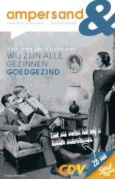Ampersand April 2013 - Oost-Vlaanderen - CD&V