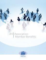 JHI Association Member Benefits