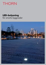 LED-belysning för smarta byggnader - THORN Lighting