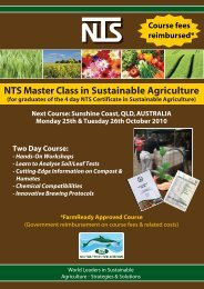Master Class Registr.. - Nutri-Tech Solutions