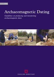Archaeomagnetic Dating.ps, page 1-33 ... - English Heritage