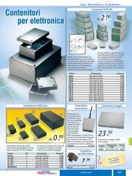 Contenitori per elettronica - Futura Elettronica