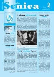 február 2003 2číslo - Mesto Senica