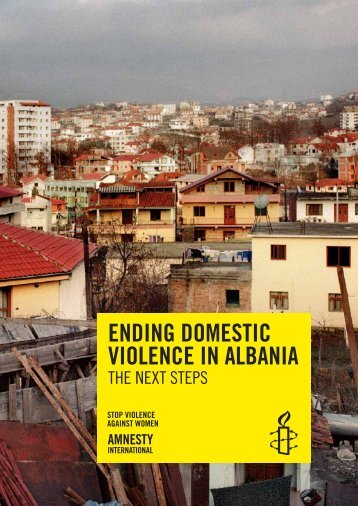 Ending domestic violence in Albania - Amnesty International