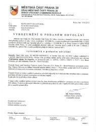 URA r r - '. 20 - Horní Počernice