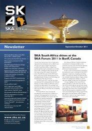 Number 15 - September/October 2011 - SKA