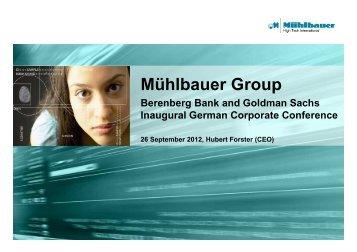 Mühlbauer Group