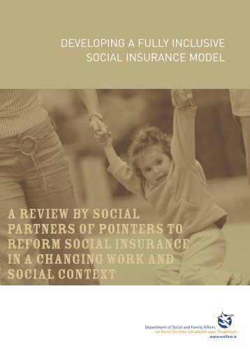 Developing a Fully Inclusive Social Insurance Model - Welfare.ie