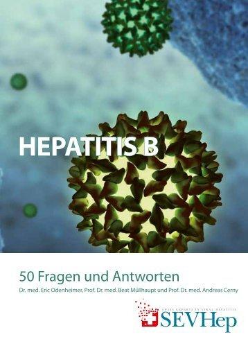 Hepatitis B - 50 Fragen und Antworten - Swiss Experts in Viral ...
