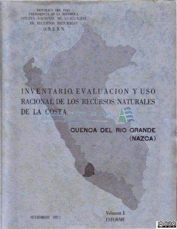 P01 03 22-volumen 1.pdf - Biblioteca de la ANA.