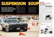 SuSPenSion SouP - MilesSpeed.com