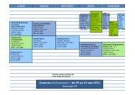 planning examens CT 2nd semestre - UFR de Linguistique