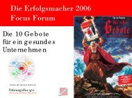 Das 11. Gebot - SchmidtColleg GmbH & Co. KG