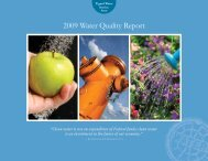 2009 Tigard Water Service Area, Water Quality Report - City of Tigard