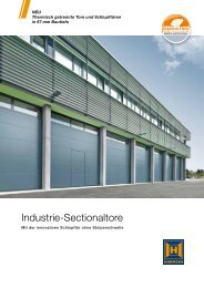 Industrie-Sectionaltore als PDF - Hörmann KG