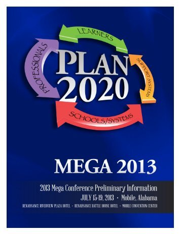 2013 mega conference - Alabama Department of Education