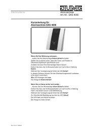 Alarmsysteme Alarmzentrale Art.-Nr.: DAS 4000 ... - Avolta