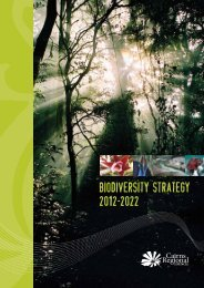 Biodiversity Strategy 2012–2022 - Cairns Regional Council ...