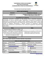 Cenercol S.A - Universidad Catolica de Colombia