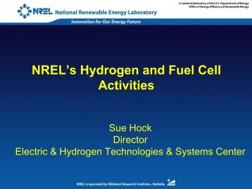 Hydrogen for NASULGC