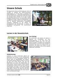 Unsere Schule - Gesamtschule Brünninghausen