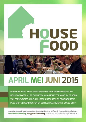 HouseOfFood - programma