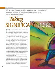 Taking Significant Risks - Sybase