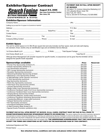 Exhibitors sponsors contract puerto rico hotel and tourism download the exhibitorsponsor contract thecheapjerseys Gallery