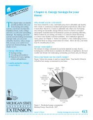 Energy Savings for Your Home - Michigan Water Stewardship ...