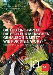 liste 9 - Sozialdemokratische Partei Kanton Bern