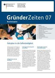 Businessplan - Existenzgruendung Hessen
