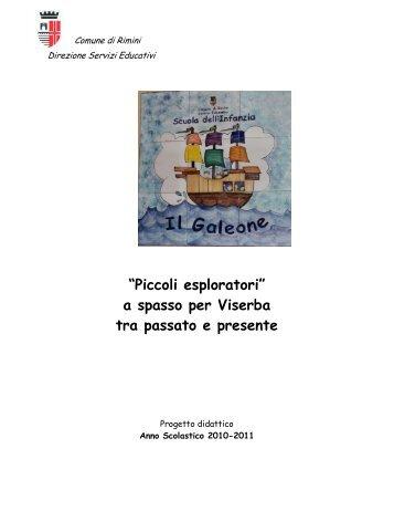 Progetto didattico a.s. 2011 12 - Comune di Rimini