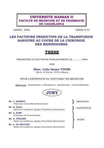 Thèse Laila Imane Toumi.pdf - Toubkal