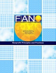 FANO principles and practices v5 - Blacktie South Florida