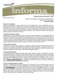 Boletim da Escola Conveniada – 002/13 Curitiba ... - Escola Interativa