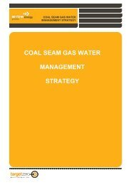 coal seam gas water management strategy - Arrow Energy