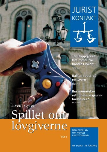 Juristkontakt 5 - 2002