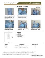ORTHOARTS* U-Drape Surgical Draping Guide