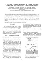 δ18О Variations in Late Holocene Ice-Wedges and Winter Air ...