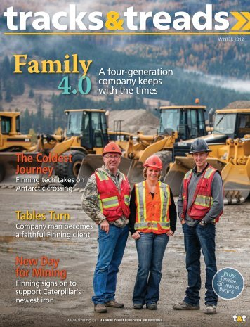 On the Cover - Finning Canada