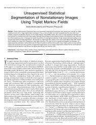 Unsupervised statistical segmentation of non stationary images ...