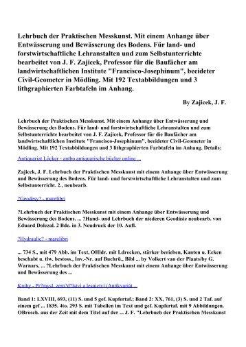 Download Lehrbuch der Praktischen Messkunst. Mit einem ...