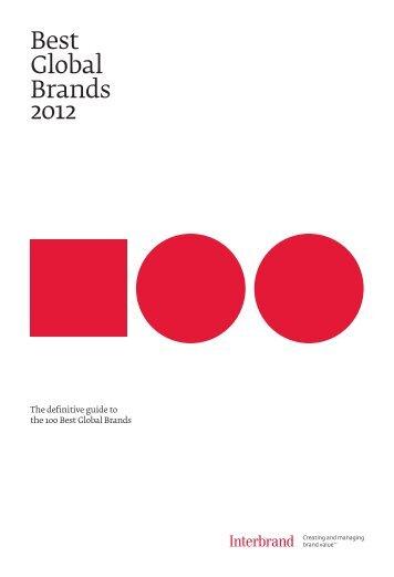 Best Global Brands 2012 - Interbrand