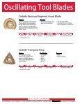 Oscillating Tool Blades - Page 4