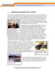 PDF-version of this article - The Arctic Is