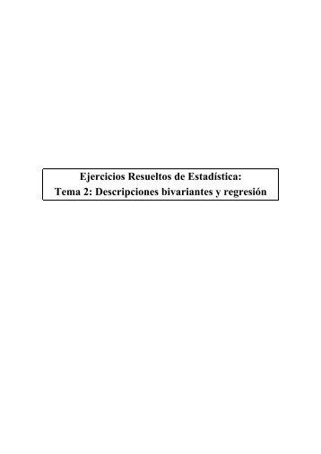 Ejercicios Resueltos de Estadística: Tema 2 ... - Academia Diego
