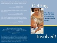 The Parent, School, and Community Involvement Guide
