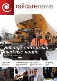 Smidige entrepriser med nye vogne - Railcare
