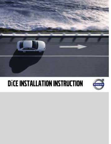 DiCE INSTALLATION INSTRUCTION